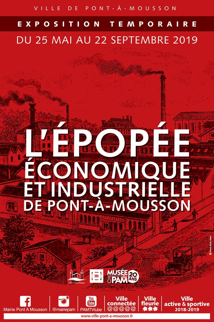 Journées du patrimoine 2019 - Visite libre du Musée de Pont-à-Mousson et de son exposition temporaire