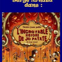 Menton - Spectacle Jeune Public, Conte Initiatique « L'incroyable histoire de Jo Patate »