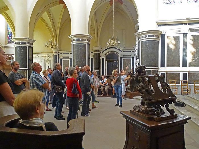 Journées du patrimoine 2019 - Visite guidée de l'église et du palais abbatiales
