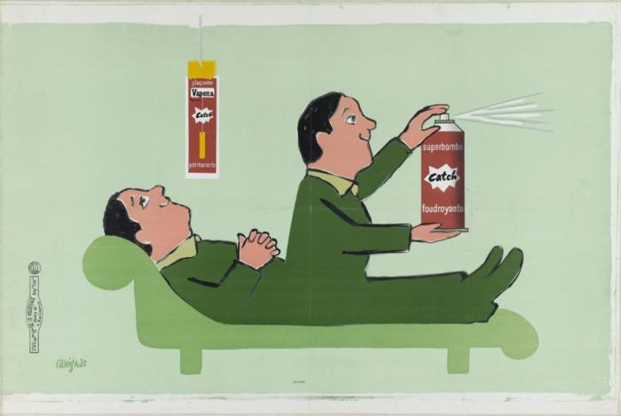 Journées du patrimoine 2019 - Exposition de maquettes et d'affiches de Raymond Savignac