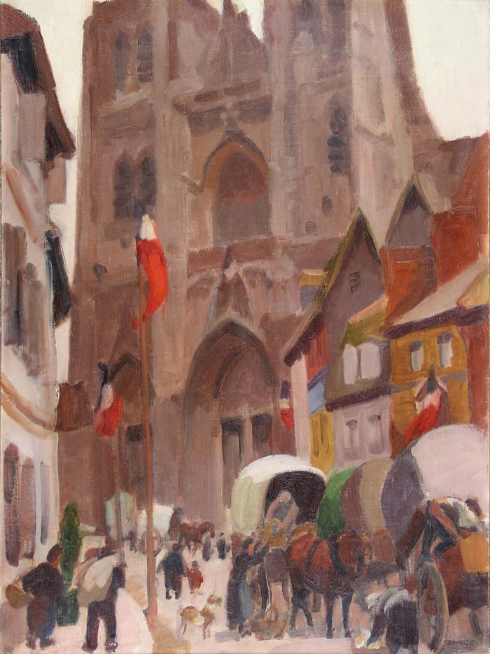 Journées du patrimoine 2020 - La collégiale Saint-Vulfran : sur les traces des artistes