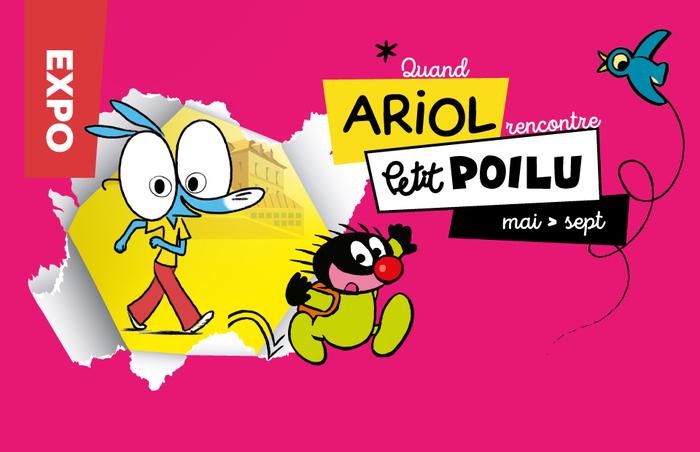 Quand Ariol rencontre Petit Poilu / Exposition