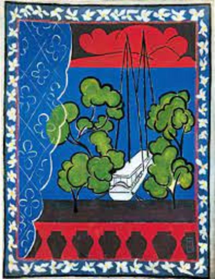 Décryptage d'oeuvre : Fenêtre à Tahiti