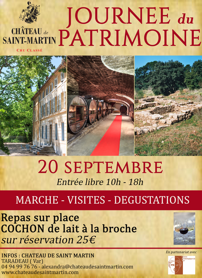Journées du patrimoine 2020 - La Journée du Patrimoine