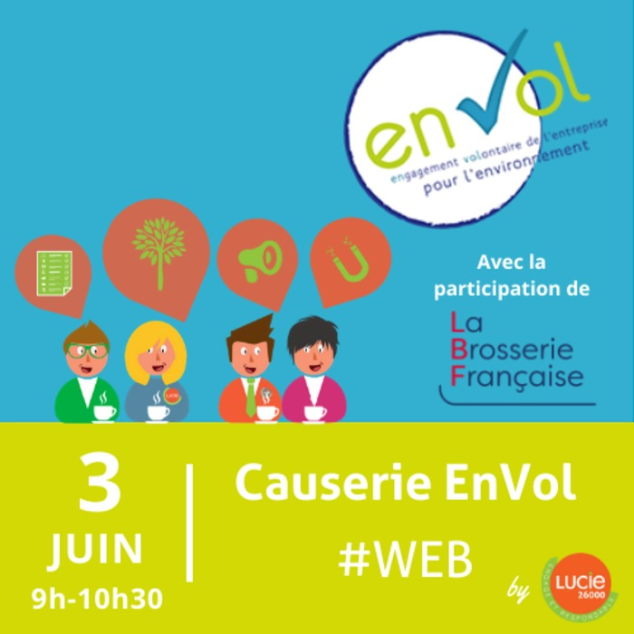 Causerie web EnVol by LUCIE