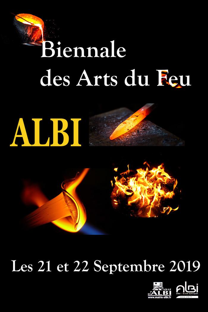 Deux journées pour la 3ème biennale des arts du feu avec 40 artisans des métiers d'art, pour vendre leurs oeuvres.