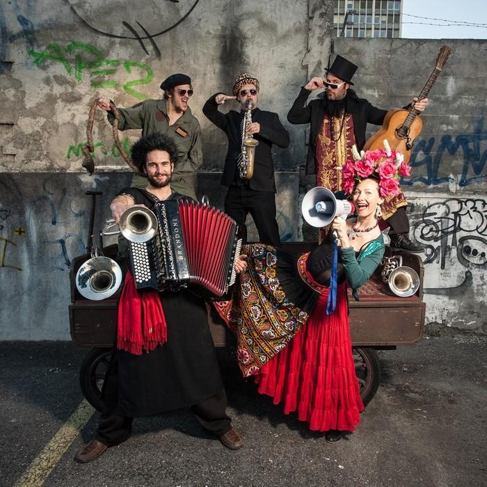 Fête de la musique 2019 - Gypsy sound system orkestra // Asptt danse musette // Radio Tutti feat Barilla sisters