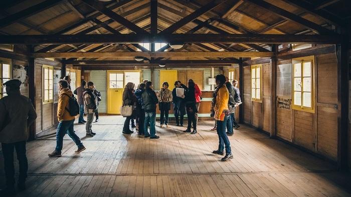 Journées du patrimoine 2020 - Visite libre de La Grande Baraque, réinstallée à Lorient en 2019.