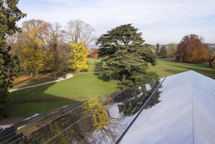 Journées du patrimoine 2020 - Le parc vu d'en haut