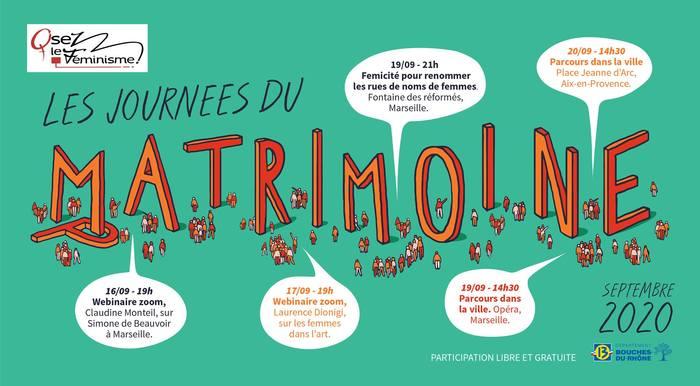Journées du patrimoine 2020 - Annulé | Parcours dans la ville d'Aix en Provence, à la découverte du Matrimoine.