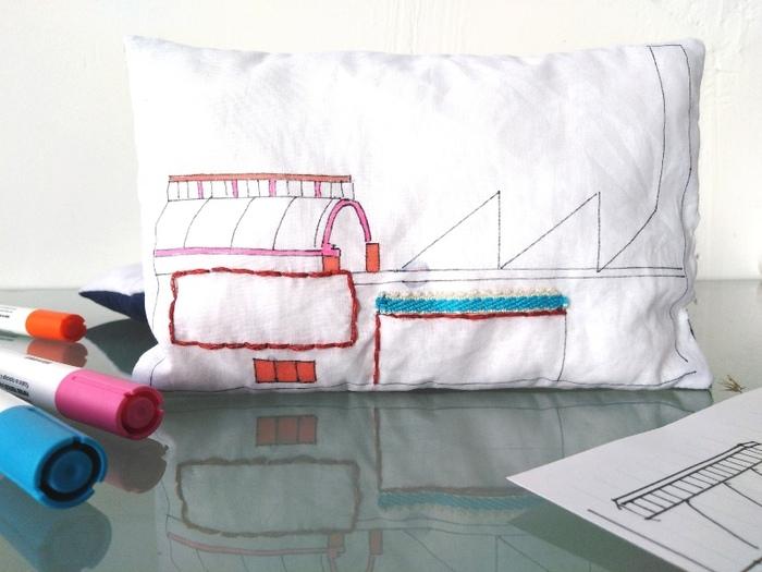 Atelier enfant : Architecture cousue