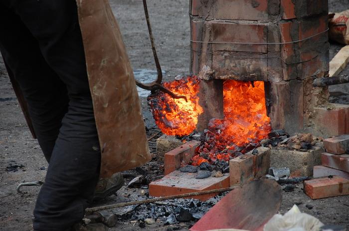 Journées du patrimoine 2019 - Démonstration de forge