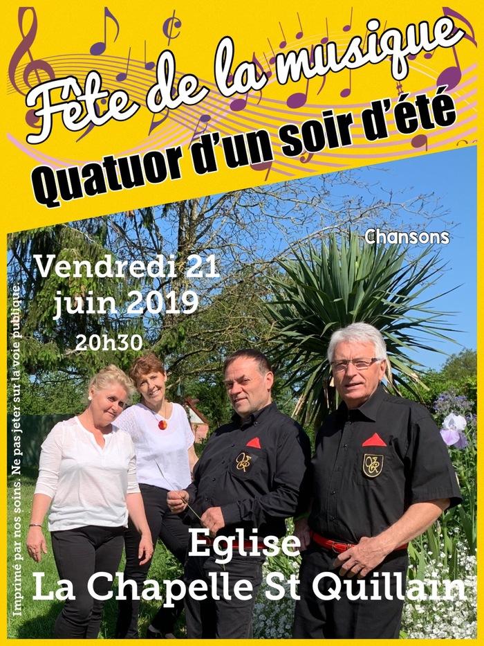 Fête de la musique 2019 - Quatuor d'un soir d'été