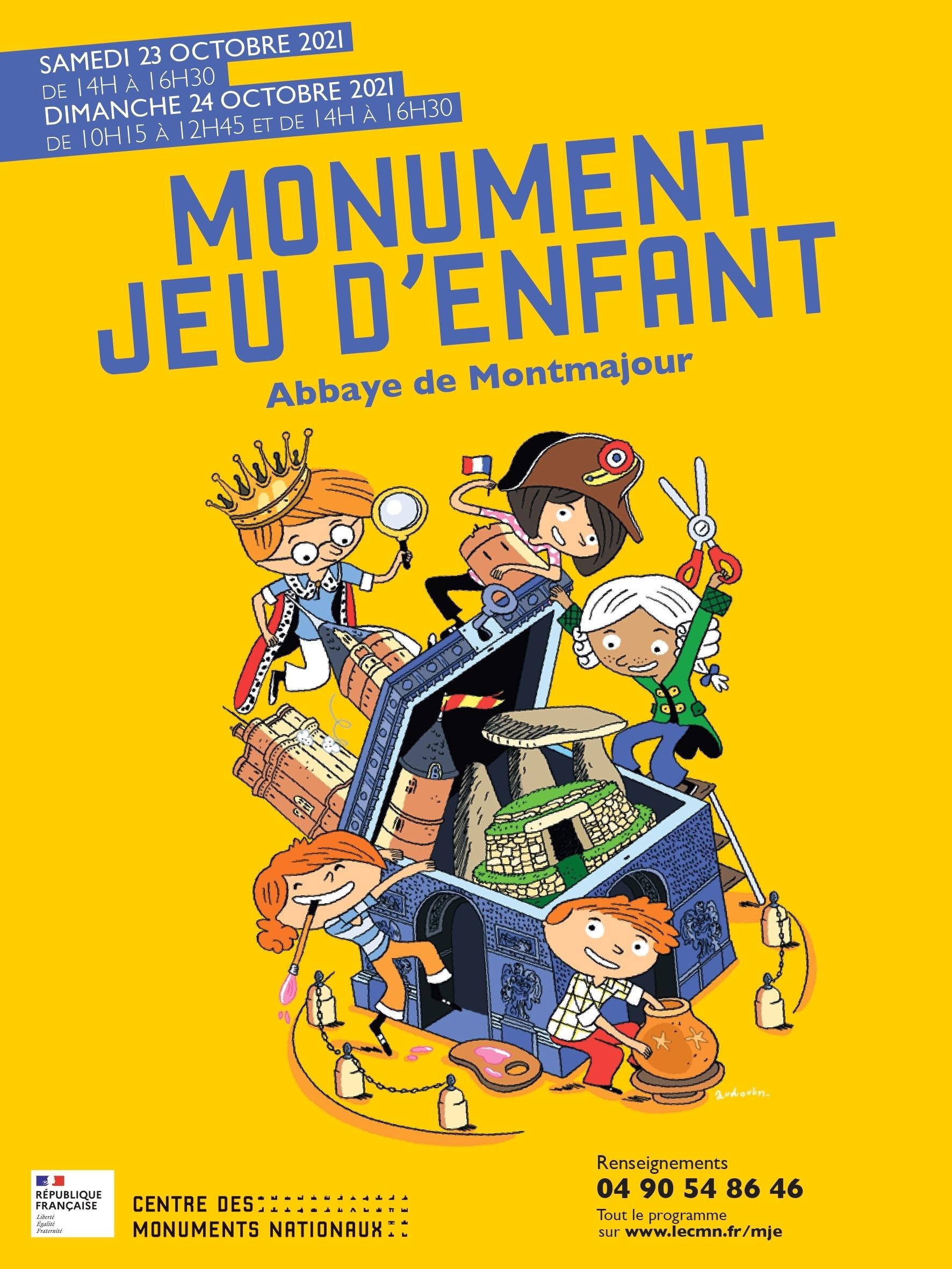 l'abbaye de Montmajour en co-production avec Extramentale, membre fondateur du festival « Octobre Numérique – Faire Monde » vous invite à découvrir le monument à travers des ateliers ludiques !