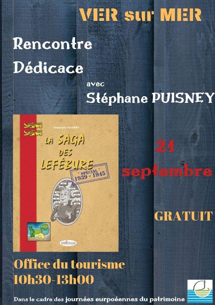 Journées du patrimoine 2019 - Dédicace - La saga des Lefébure