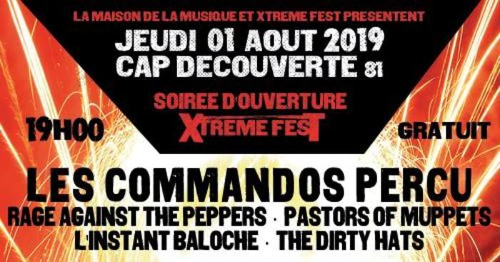 Jeudi 1er août, l'Xtreme Fest propose une soirée d'ouverture gratuite et ouverte à tous à partir de 18h !