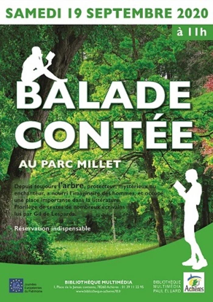 Journées du patrimoine 2020 - Balade contée en forêt d'Achères