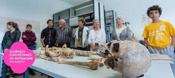 Journées du patrimoine 2019 - Visite du pôle archéologie du Département