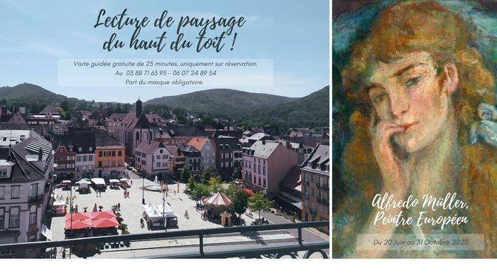 Journées du patrimoine 2020 - Visites sur le toit du château