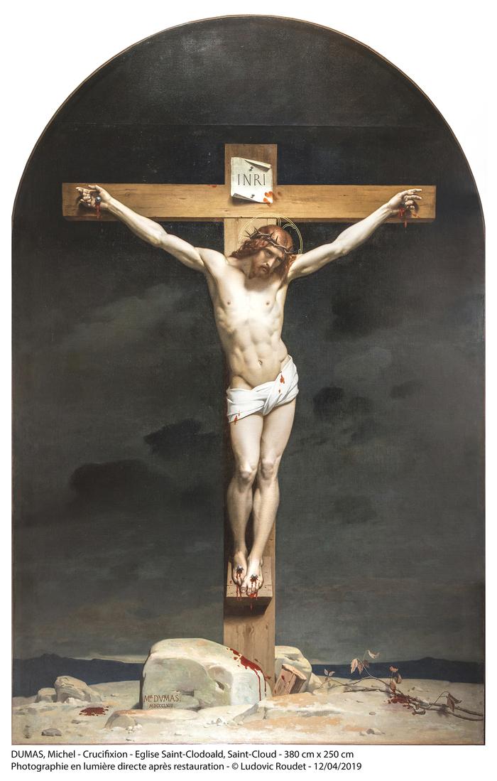 Journées du patrimoine 2019 - Découverte du Christ en croix de Michel Dumas