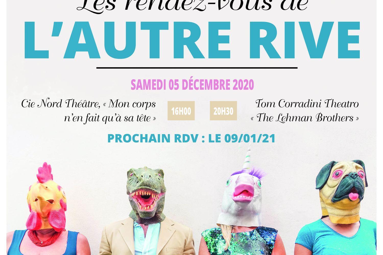 Annulé | Rendez-vous de L'Autre Rive (Théâtre) du 05/12