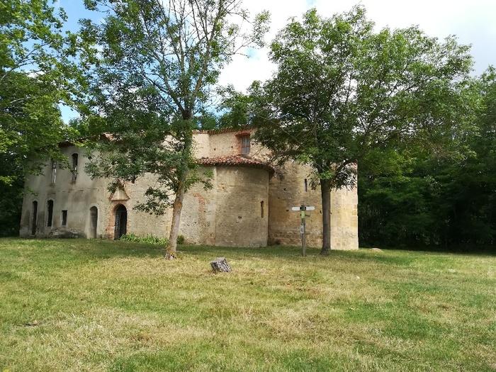 Journées du patrimoine 2019 - Visite guidée de l'ancienne église, du jardin médiéval, du verger-conservatoire de Cailloup