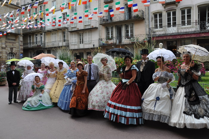Journées du patrimoine 2020 - Déambulation en costumes d'époque