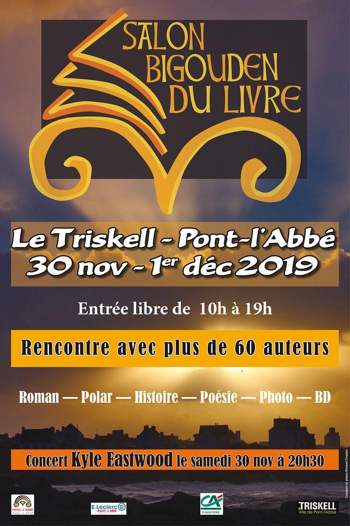 Marie-Josée Christien sera présente au salon bigouden du livre les 31 novembre et 1er décembre.