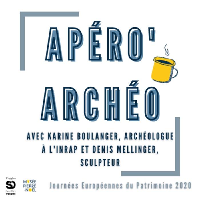 Journées du patrimoine 2020 - Conférence Apéro'Archéo au musée Pierre Noël