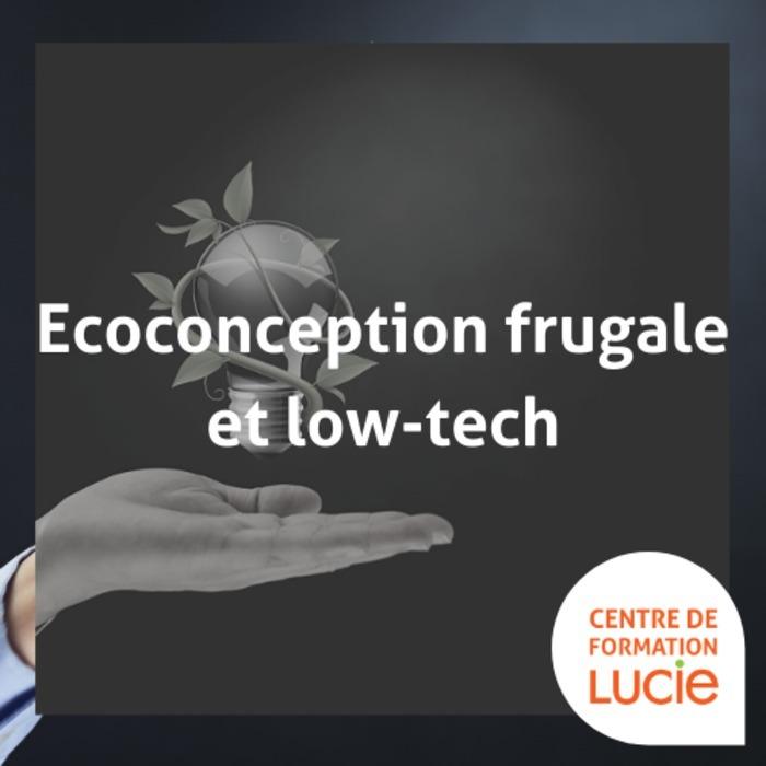Formation : Savoir utiliser l'écoconception frugale et low-tech dans la conception d'un produit