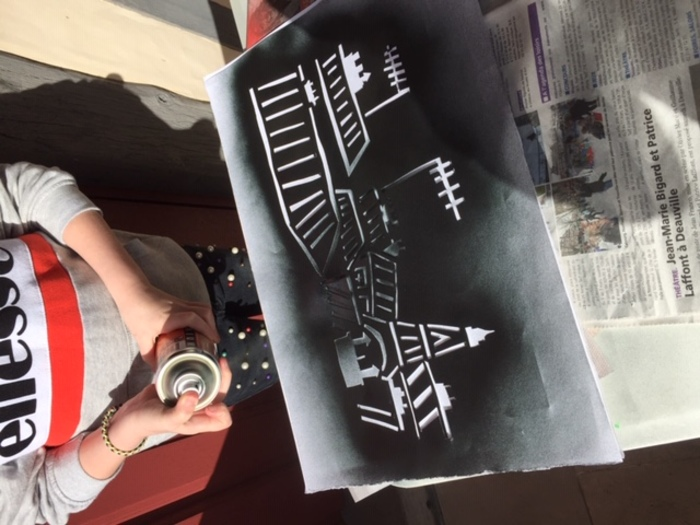 Journées du patrimoine 2019 - Démonstraton : Performance Street-Art