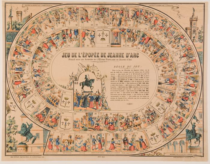 Journées du patrimoine 2019 - Atelier jeux autour de Jeanne d'Arc et le Moyen Âge (6-12 ans)