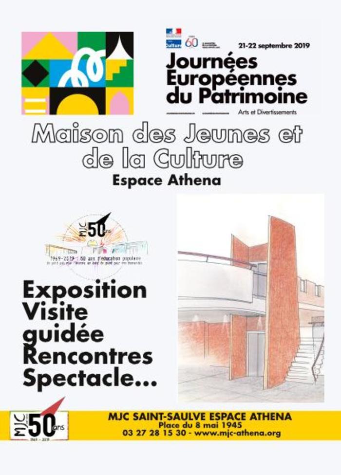 Journées du patrimoine 2019 - Visité guidée de l'Espace Athéna Saint-Saulve