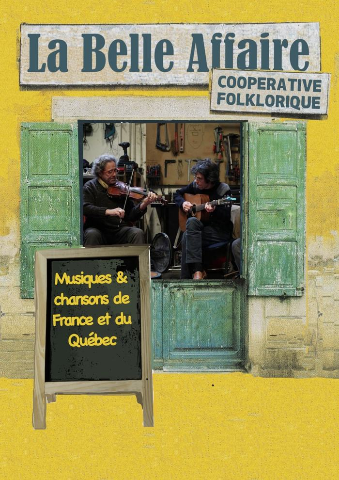 Concert duo La Belle Affaire