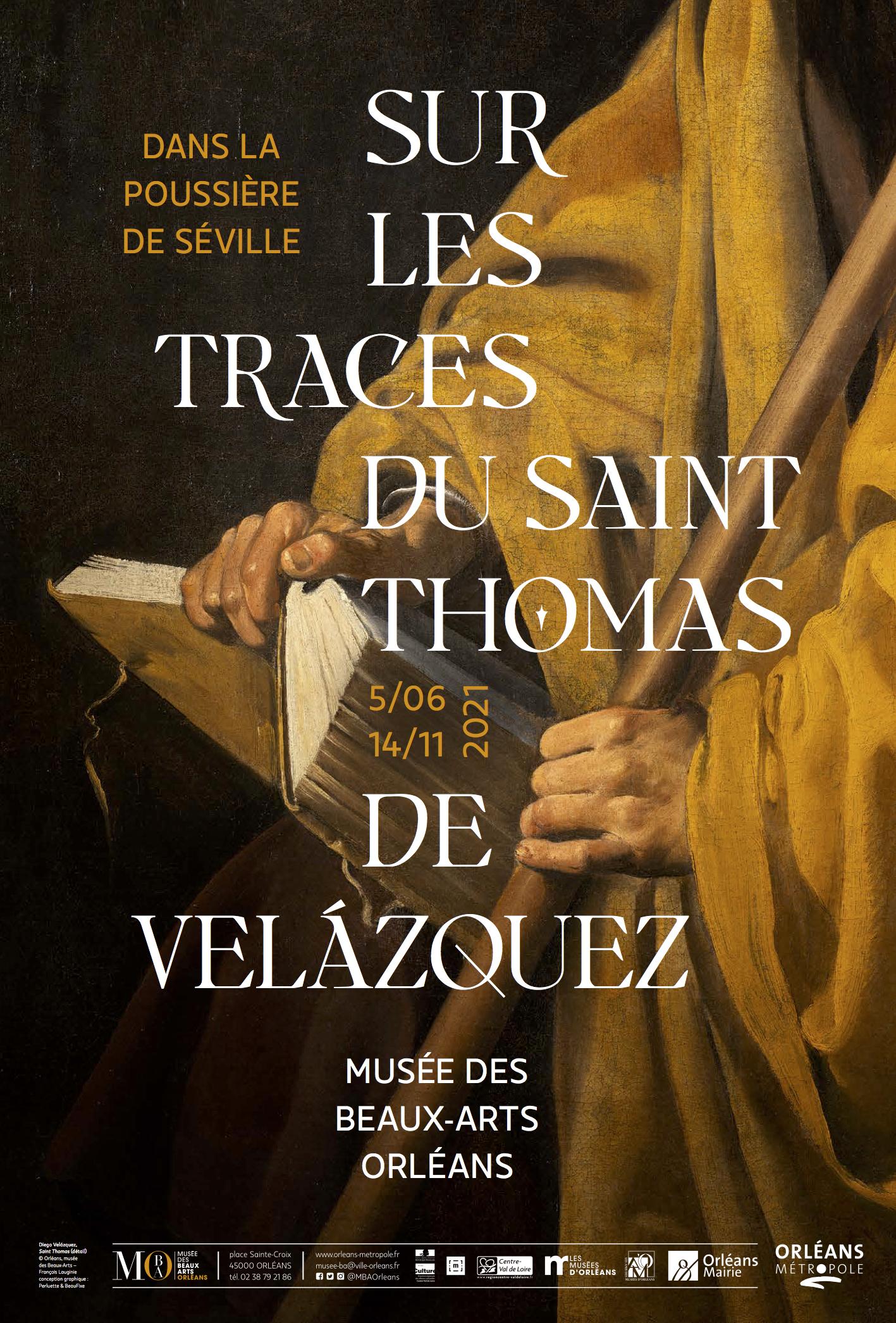 """Exposition """"Dans la poussière de Séville... sur les traces du Saint Thomas de Velazquez"""""""