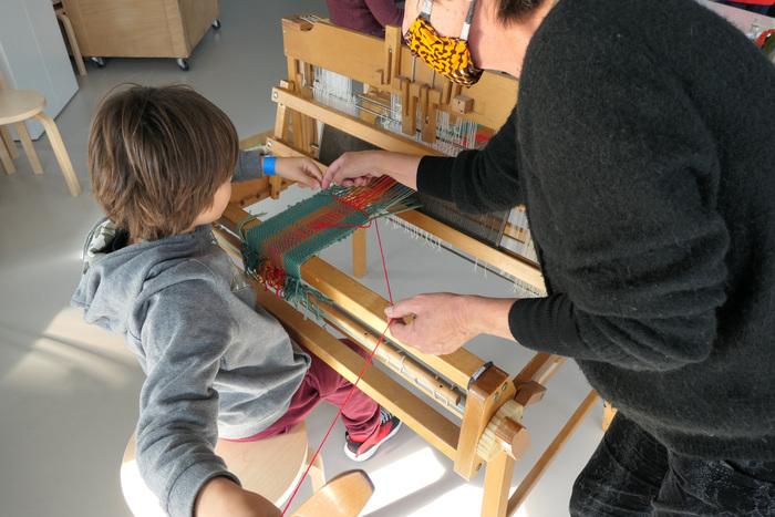 Atelier tissage « Dévoilons la trame d'une peinture »