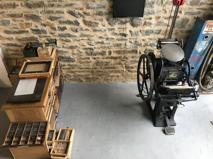 Journées du patrimoine 2020 - Démonstration de technologies anciennes d'imprimerie