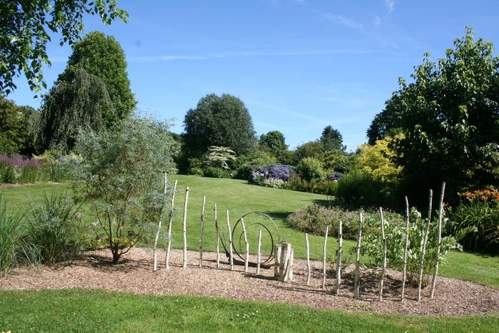 Journées du patrimoine 2019 - Visite guidée du parc floral à l'anglaise et de l'écomusée sur la ferme mayennaise d'autrefois