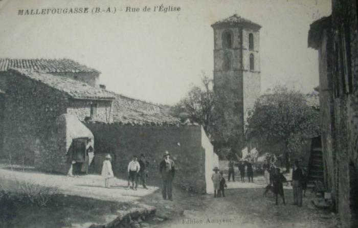 Journées du patrimoine 2020 - exposition et visites guidées du village de Mallefougasse