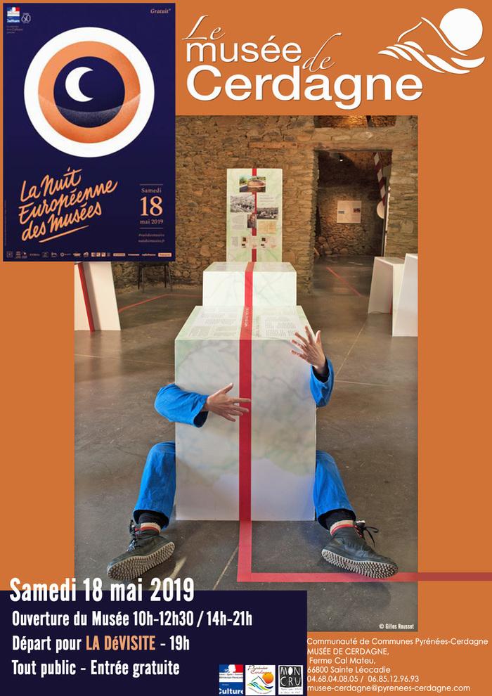 Nuit des musées 2019 -LA DéVISITE du Musée
