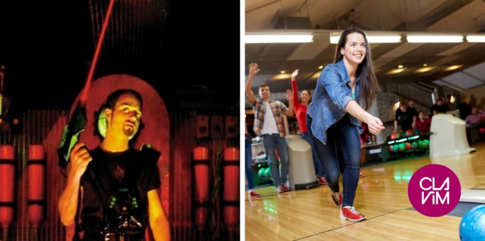 Sortie loisirs : Cosmic Laser® & Bowling