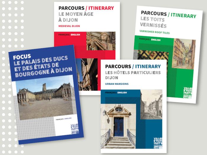 Journées du patrimoine 2020 - Parcourir la ville, brochures à la main