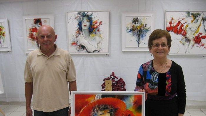 L'association des Quartiers Breuil-Mazicou organise à la Maison de Quartier son Exposition de Peinture