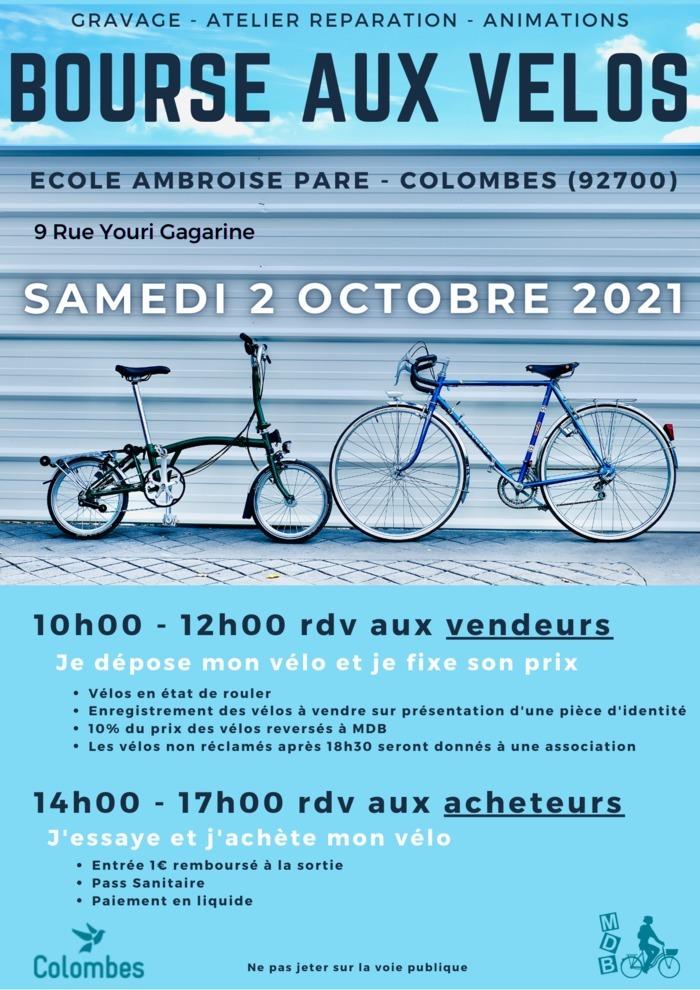 Bourse aux vélos - Colombes