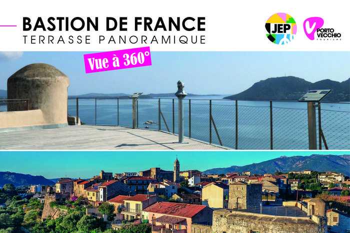 Journées du patrimoine 2019 - Terrasse panoramique du Bastion de France