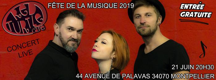 Fête de la musique 2019 - Manège à 3 en Live !