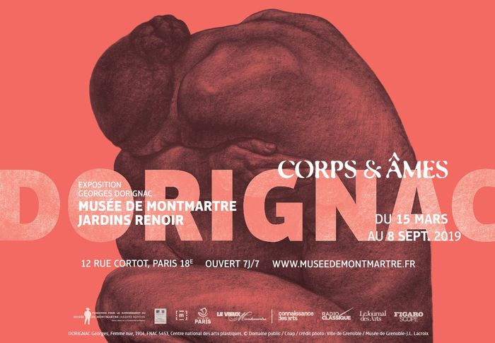 Nuit des musées 2019 -Exposition Georges Dorignac, Corps & Âmes