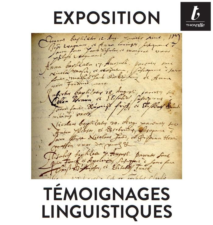 Journées du patrimoine 2019 - Témoignages linguistiques