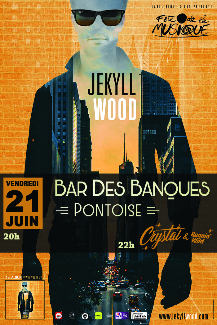 Fête de la musique 2019 - Jekyll Wood en concert au Bar des Banques à Pontoise