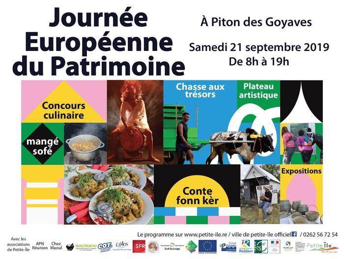 Journées du patrimoine 2019 - Journée Européenne du Patrimoine à Piton des Goyaves